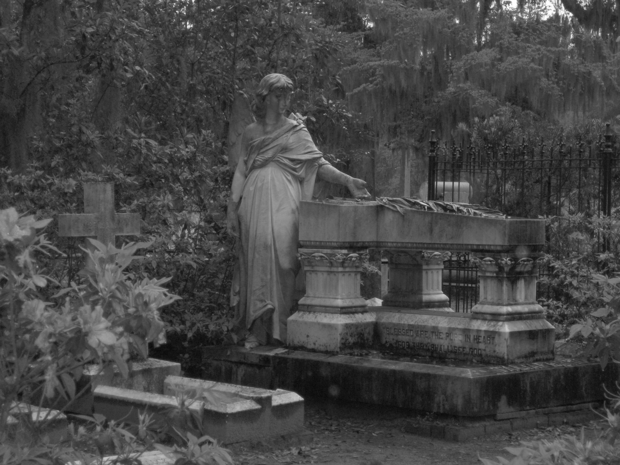 Savannah ga bonaventure cemetery where both the book and - Midnight in the garden of good and evil book ...