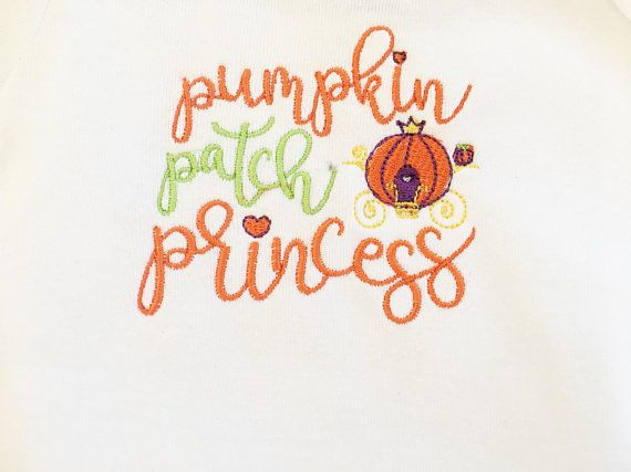 Girls Pumpkin Shirt - Baby Pumpkin Bodysuit - Pumpkin Patch Outfit - Newborn Gift - Pumpkin Patch Pr #pumpkinpatchoutfit