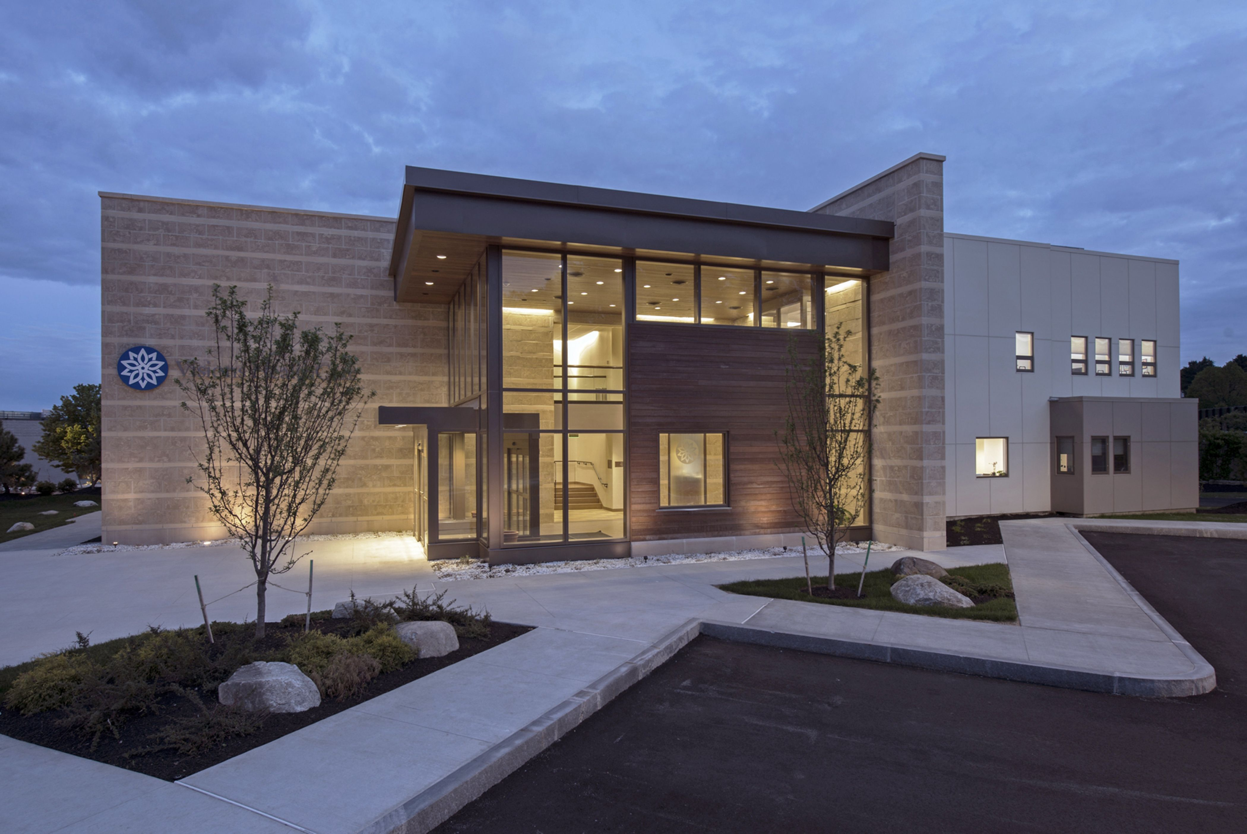 Marble Green Commercial Building Exteriors : Medical office building nerej green of the month
