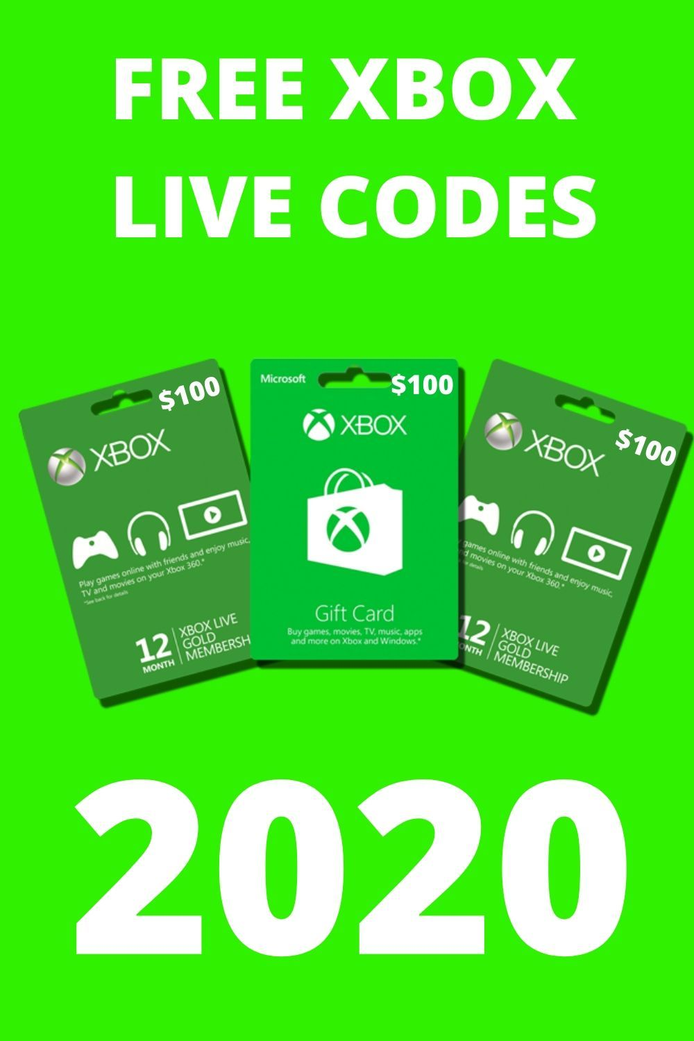Free xbox gift card giveaway 2020 it is very easy and