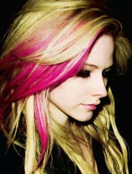 Avril Lavigne Hair Styles Hair Color Hairstyle