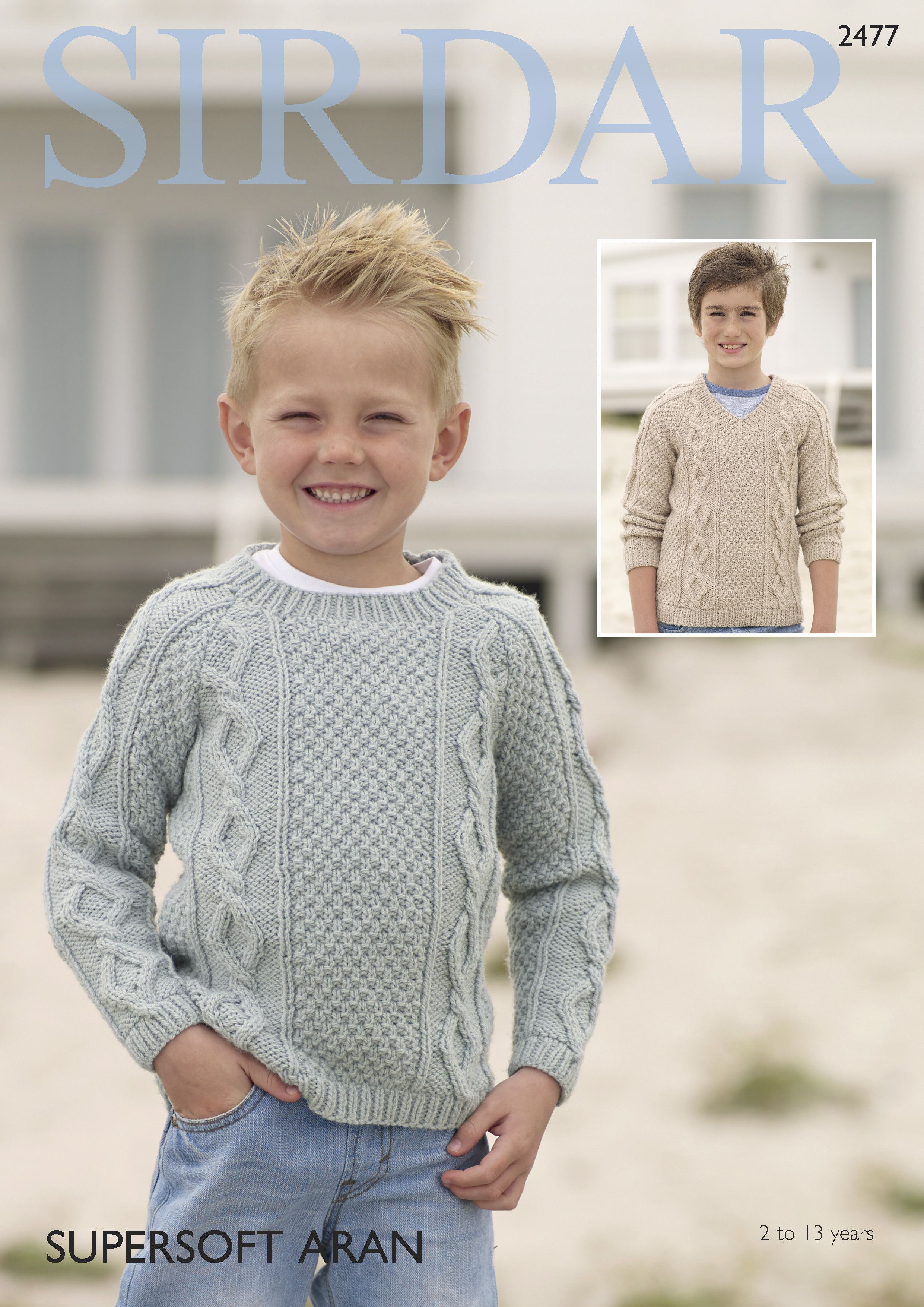 Boys sweater in sirdar supersoft aran 2477 digital version boys sweater in sirdar supersoft aran 2477 digital version boys sweaterssweater patternsknitting bankloansurffo Image collections