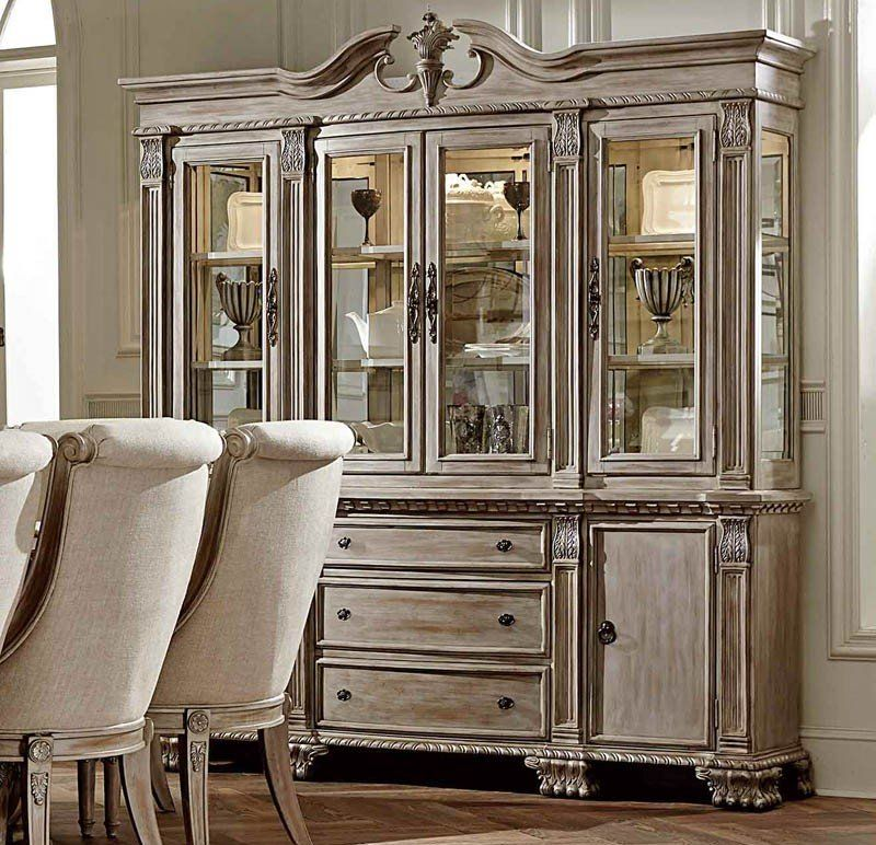 Orleans Antique White China Cabinet - Orleans Antique White China Cabinet Bracken III Pinterest