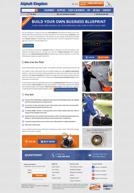 Design a compelling landing page for our build your own business design a compelling landing page for our build your own business blueprint by arihant art malvernweather Choice Image