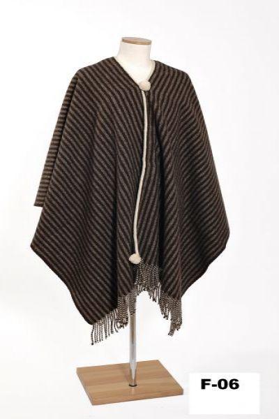 Poncho de lana jerezano130 mantas de piel manta de - Mantas de piel ...