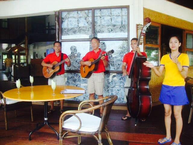 A warm Welcome - Club Paradise - Coron PALAWAN PHILIPPINES
