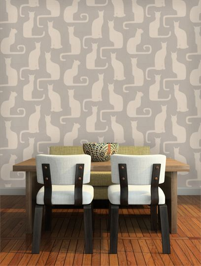 Cat Wallpaper Might Be Too Much Might For The Home In 2018