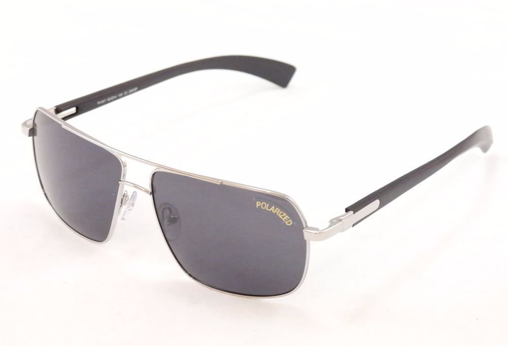8dfcc8859c Paul Vosheront Sunglasses PV347 Polarized Lenses Metal Plastic Italy  63-14-145  PaulVosheront  Rectangular