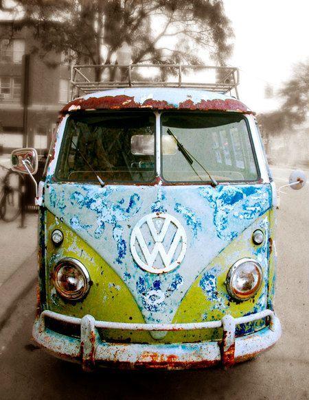 Nostalgic VW Bus