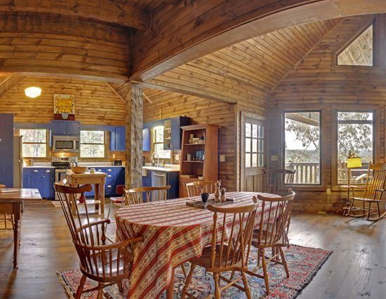 Luxury Cabin With A Farmhouse Feel High Cotton In Ellijay Ga