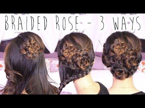 Braided Rose (3 Ways) - All Things Hair