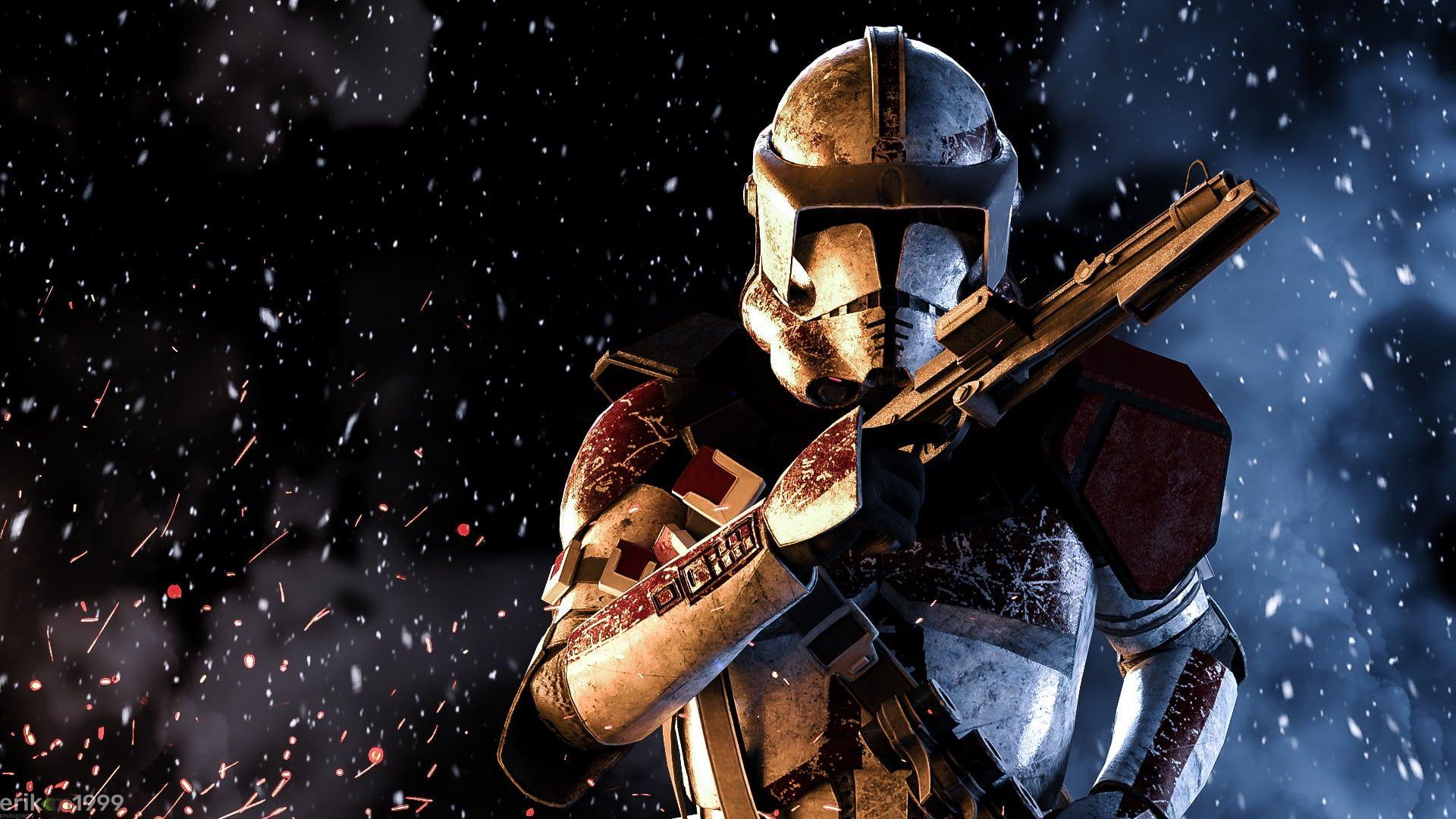 Star Wars Video Games Star Wars Battlefront Ii Star Wars Battlefront 2 Clone Trooper 1080p Wallpa In 2020 Star Wars Wallpaper Star Wars Images Funny Star Wars Memes