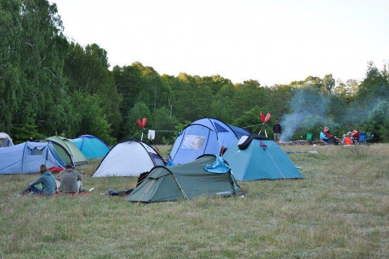 Camping Mecklenburgische Seenplatte Biber Ferienhof