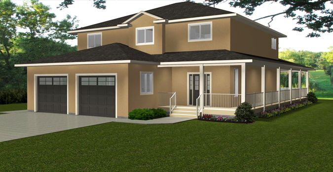 HOUSE PLAN 2013760   TWO STOREY COUNTRY HOME By Edesignsplans.ca. Grand  Front Entrance