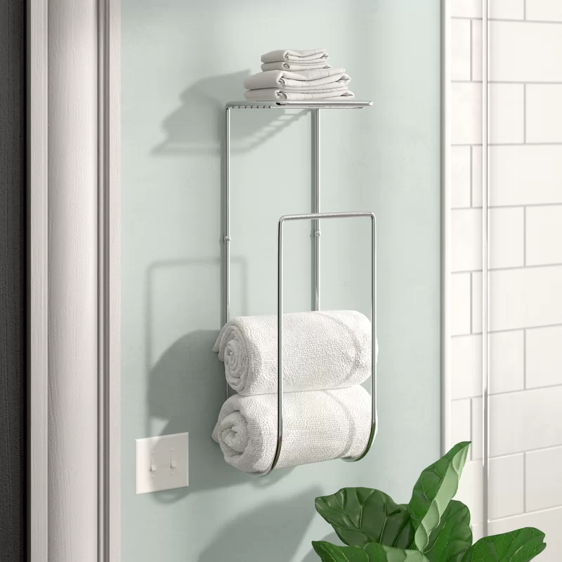 Demi Wall Mounted Towel Rack In 2020 Decorating Bathroom Bathroom Towel Storage Towel Rack Bathroom