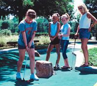 Palm Springs Amusement Park - Boomers Mini Golf Go Karts