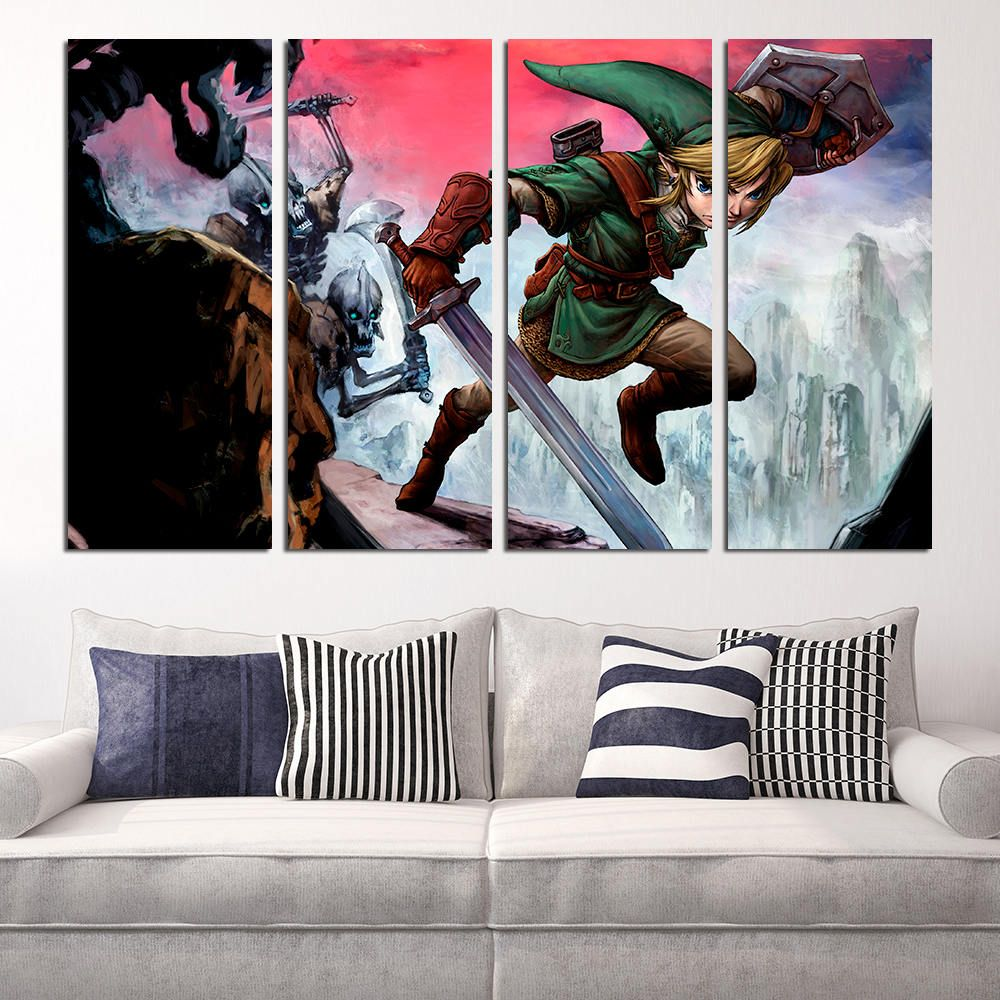 #Zelda #large #print  #homedecor #decoration #interior #design #designer #beautiful #woodwork #handmade #canvas