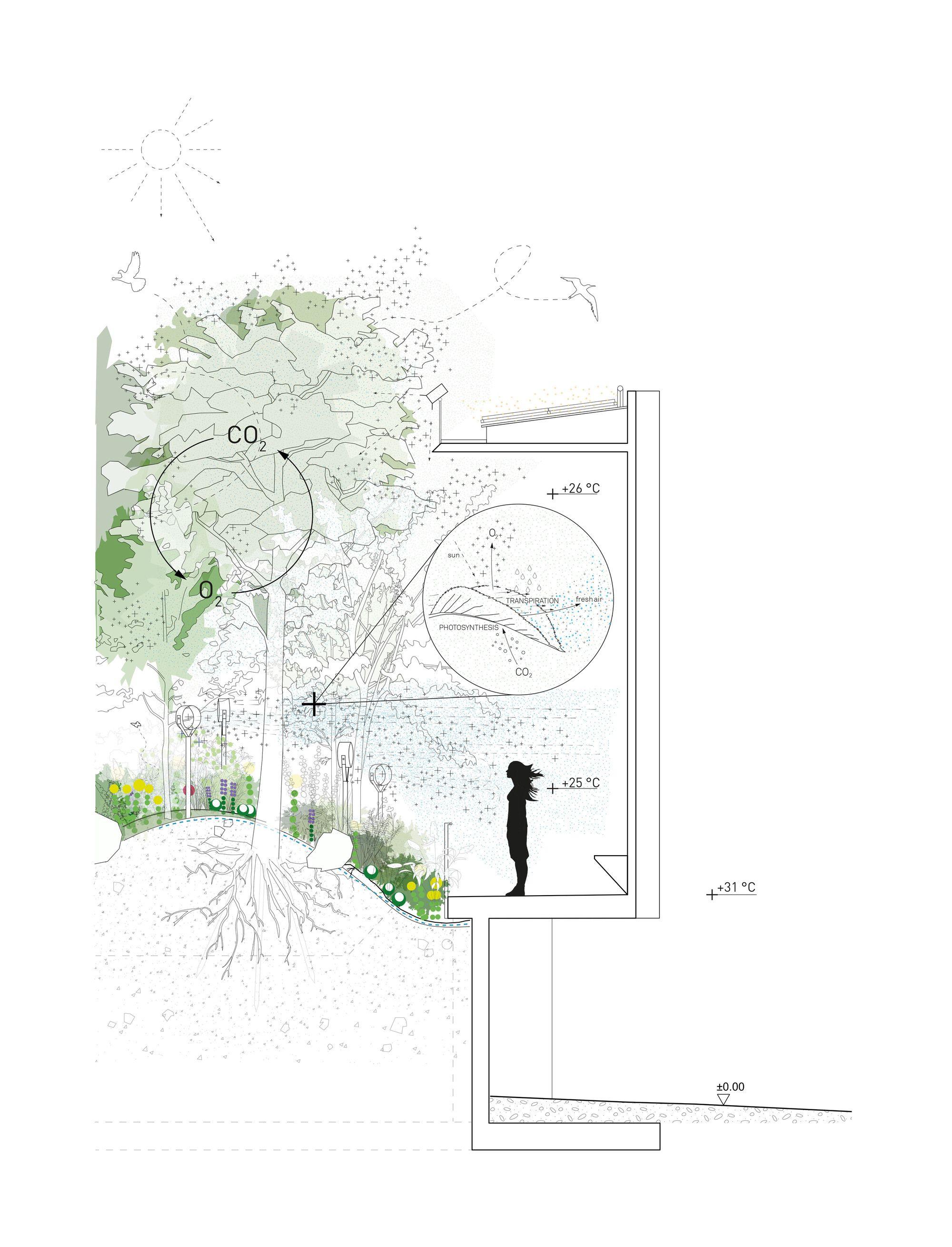 Galer a de pabell n austria expo mil n 2015 36 diagram architektur - Landschaftsarchitektur osterreich ...