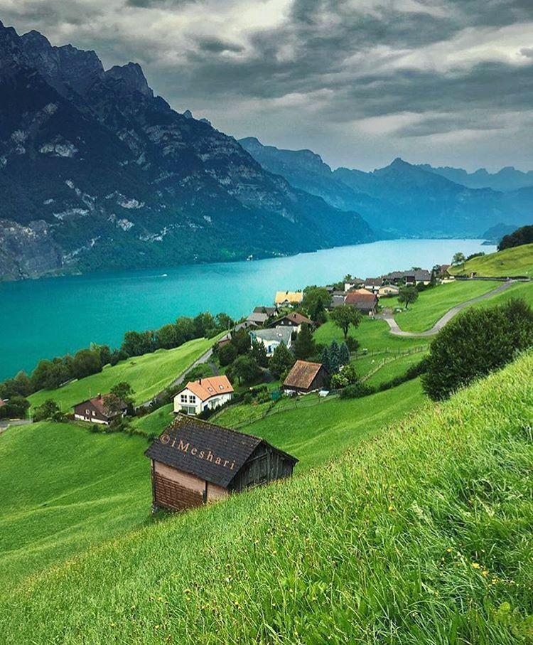 47 1 Mil Me Gusta 240 Comentarios Fantastic Earth Fantastic Earth En Instagram Quot Walensee Lake Switz Switzerland Vacation Travel Switzerland Travel