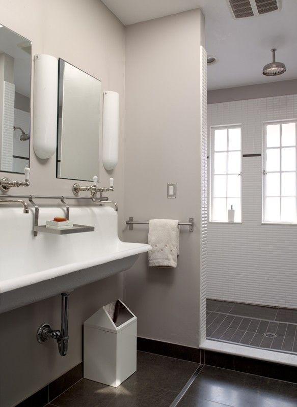 Project completed by Gelotte Hommas #bathroom exhaust fan ~