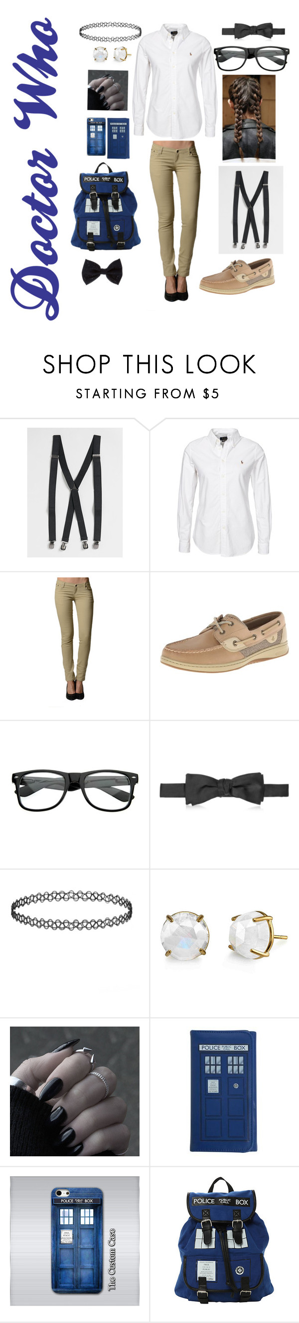 """""""✨Nerd Chic✨"""" by annaleigh1213 ❤ liked on Polyvore featuring Topman, Polo Ralph Lauren, Sperry Top-Sider, Versace, Samsung, Accessorize, women's clothing, women, female and woman"""