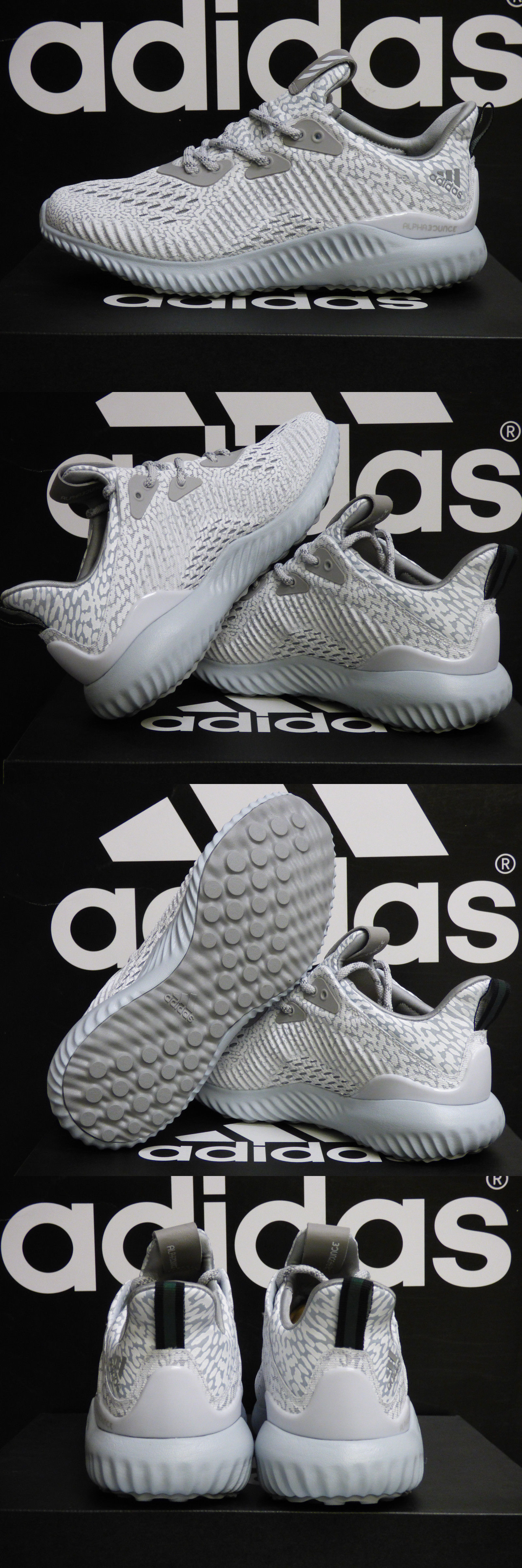 buy online 069c0 ee7a4 Women 158953 New Authentic Adidas Alphabounce Ams Women S Running Shoes -  White Bw1132