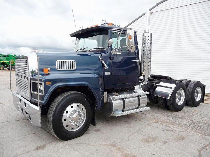 Ford Ltl 9000 Big Rig Trucks Ford Trucks Trucks
