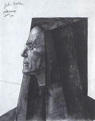 Paintings By Jan Toorop Title Charles Baudelaire Artist