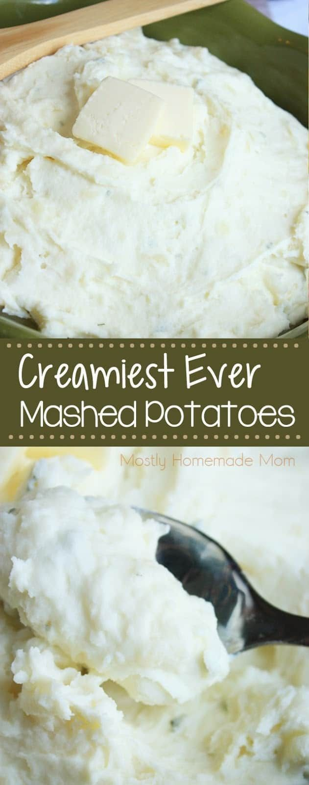 Creamy Mashed Potatoes Mostly Homemade Mom Recipe Creamy Mashed Potatoes Sour Cream Recipes Sour Cream Mashed Potatoes
