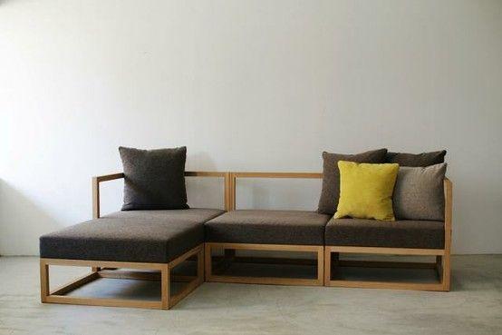 minimalistic sofa Home improvements