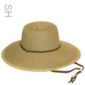 Straw Hat With Evaporative Cooling Insert Hats Headgear Wraps
