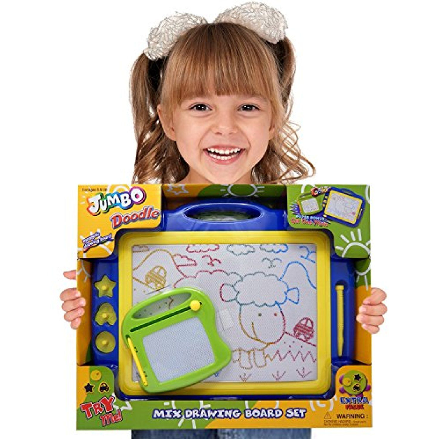 Magnetic Drawing Board Toy/Doodle Board for Kids, Best ...