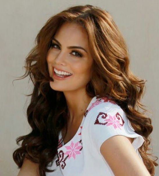 Ximena Navarrete Nuestra Belleza M 233 Xico 2009 And Miss Universe 2010 Hair Hair Pinterest