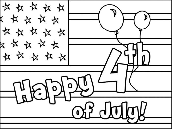 American Happy 4th Of July Coloring Pages   Fourth Of July Coloring Pages :  KidsDrawing U2013