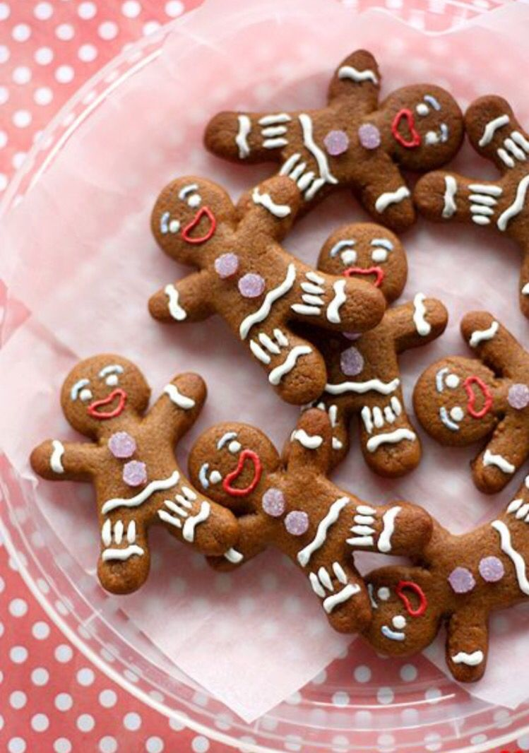 Gingy from Shrek Winter desserts