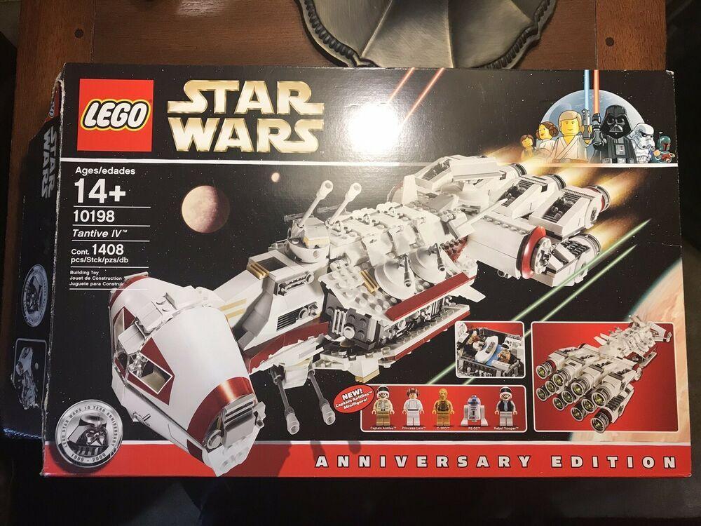 Lego Star Wars Tantive Iv 10198 Anniversary Edition 100 Complete Lego Star Wars Lego Star Lego War