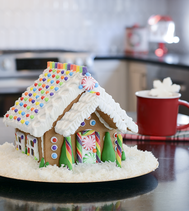 Gingerbread House Find Everything You Need For Holiday Decorating At A C Moore Gingerbread House Holiday Decor Gingerbread