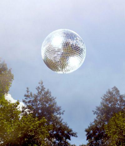 shiny disco dishes