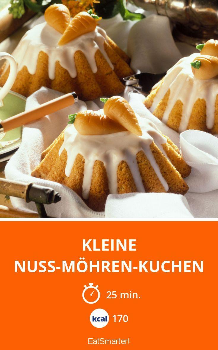 Kleine Nuss Mohren Kuchen Rezept In 2019 Backen Kuchen Mohren