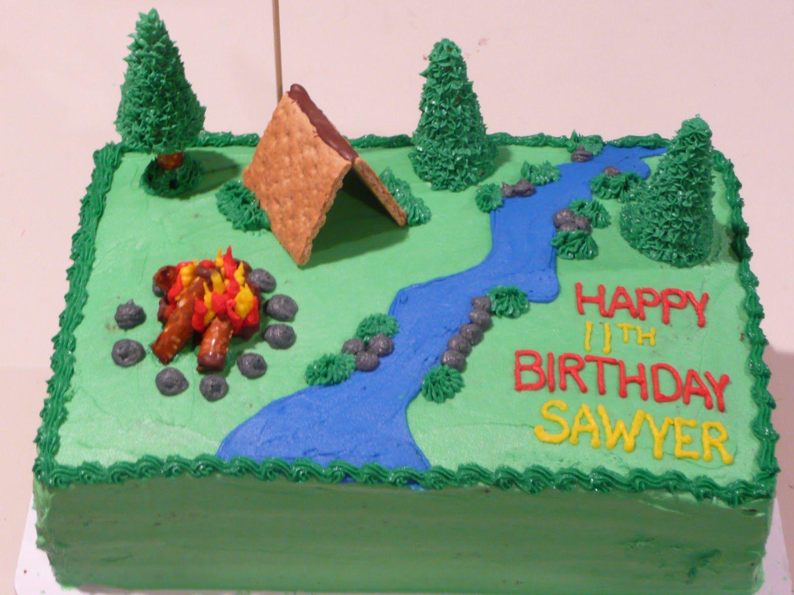Boy Scout Cakes Designs