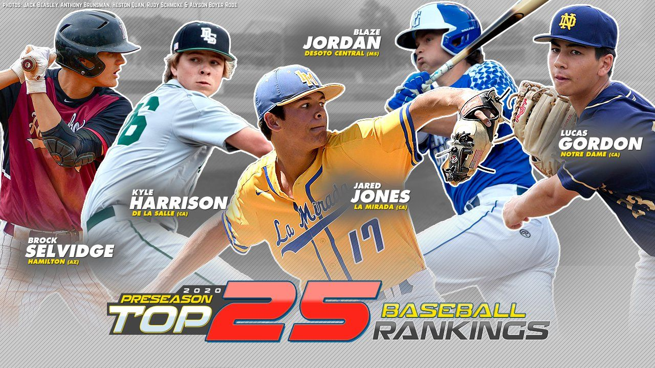 MaxPreps preseason Top 25 high school baseball rankings - MaxPreps