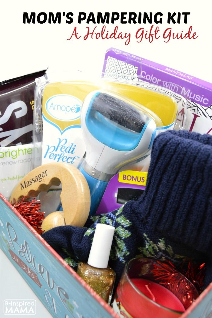 a pampering kit gift idea for moms a 2015 holiday gift guide at b inspired mama sponsored by amop
