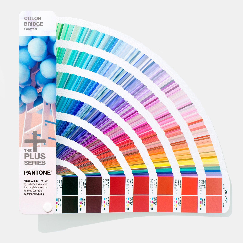 color bridge guide coated in 2020 pantone 805 neon 354c