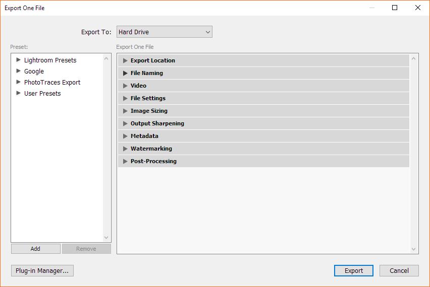 Best export settings for lightroom