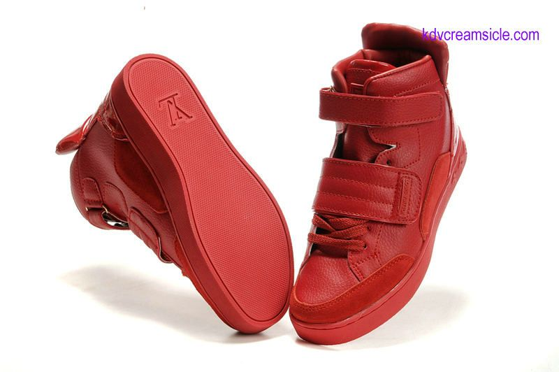 kanye west shoes louis vuitton jaspers mens sport red