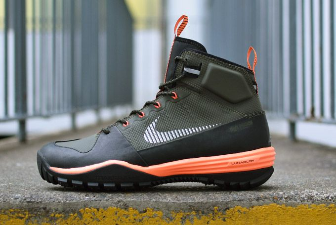 factory price d51e5 8f053 Nike ACG Lunar Incognito Mid  Green   Orange
