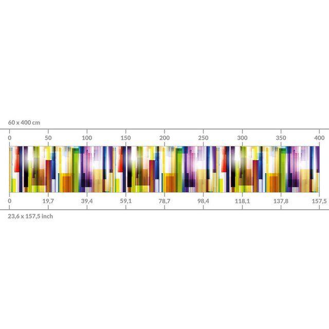 Bilderwelten Küchenrückwand »Rainbow Cubes I« | OTTO