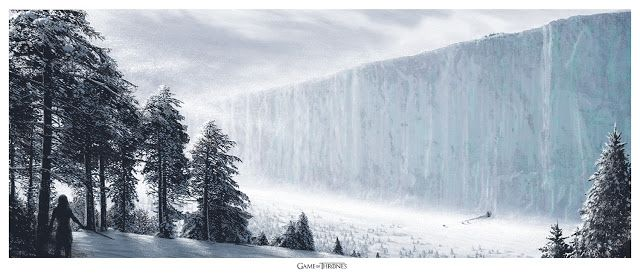 JC Richard North of the Wall Game of Thrones Mondo Poster