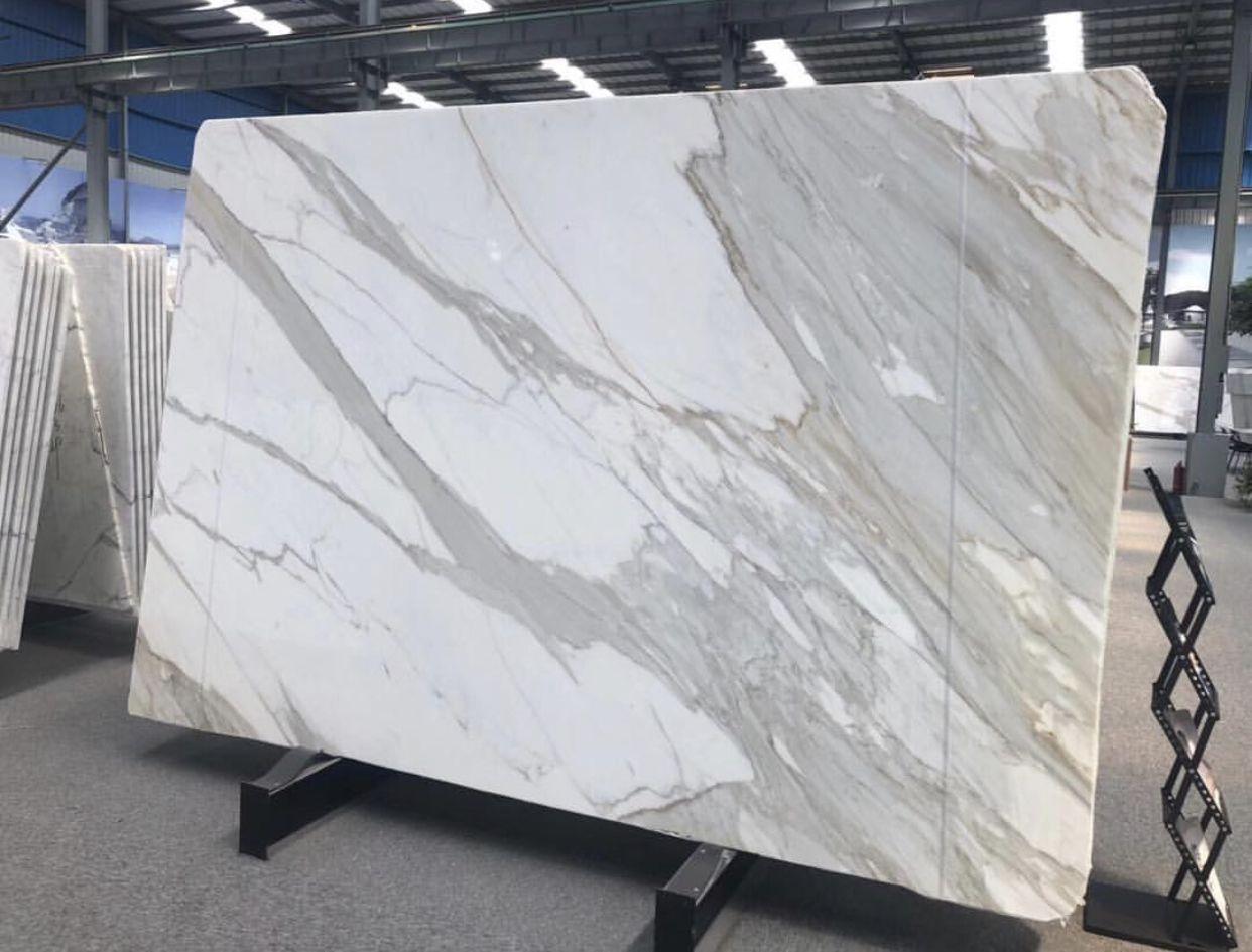 Calacatta Marble Slab By Ck Stones Thailand Calacatta Marble Marble Slab Marble