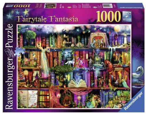 Fairytale Fantasia 1000pc Jigsaw Puzzle Ravensburger